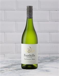 alcohol: FOOTHILLS SAUVBLANC 750ML X1!