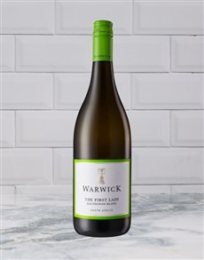 alcohol: WARWICK FIRST LADY SAUV BLANC 750ML X1!