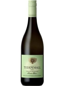 alcohol: TEDDY HALL SYBRAND MANKADAN CHEN BLANC 750ML X1!