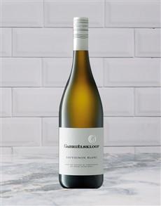 alcohol: GABRIELSKLOOF SAUVBLANC 750ML X1!