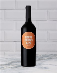 alcohol: ERNST & CO PINOTAGE 750ML X1!