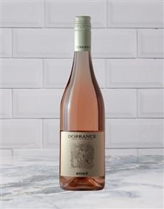 alcohol: DORRANCE ROSE 750ML X1!