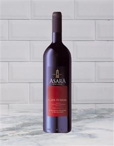 alcohol: ASARA CAPE FUSION 750ML X1!