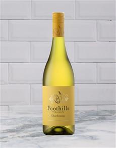 alcohol: FOOTHILLS CHARDONNAY 750ML X1!