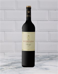 alcohol: MEERENDAL PINOTAGE 500ML X1!