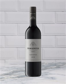 alcohol: MORGENSTER SANGIOVESE 750ML X1!
