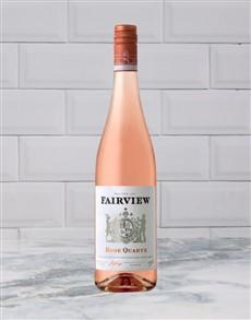 alcohol: FAIRVIEW ROSE QUARTZ 750ML X1!