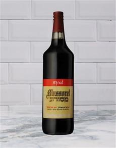 alcohol: EFRAT MASSORET RED 750ML X1!