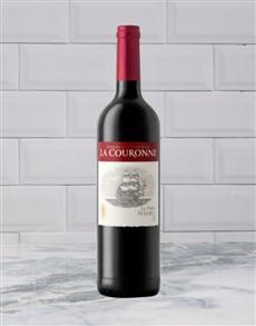 alcohol: LA COURONNE LE PETIT MALBEC 750ML X1!