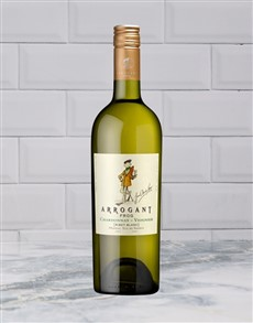alcohol: ARROGANT FROG CHARDONNAY VIOGNIER 750ML X1!