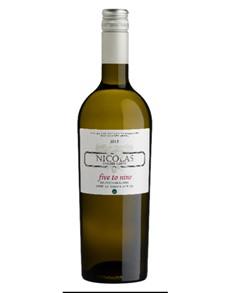 alcohol: NICOLAS VDM SAUVBLANC  FIVE TO NINE 750ML X1!