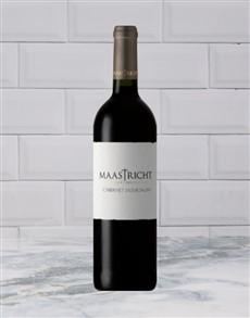alcohol: MAASTRICHT CAB SAUVIGNON 750ML X1!