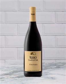 alcohol: RIJKS PINOTAGE TOUCH OF OAK 750ML X1!