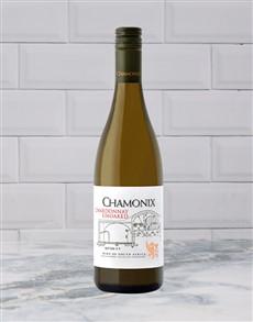 alcohol: CHAMONIX CHARDONNAY UW 750ML X1!
