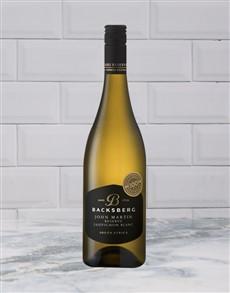 alcohol: BACKSBERG JOHN MARTIN SAUBL RES. 750ML X1!