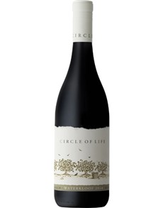 alcohol: WATERKLOOF CIRCLE OF LIFE RED 750ML X1!