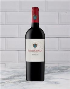 alcohol: STELLENBOSCH RES MERLOT 750ML X1!