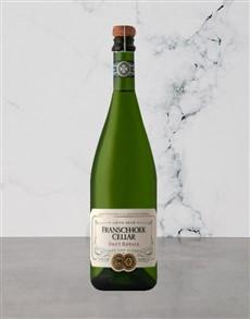 alcohol: FRANSCHHOEK CELLAR BRUT ROYALE 750ML X1!