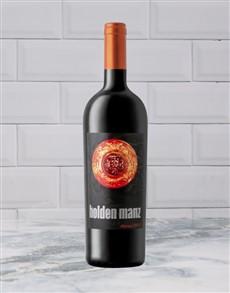alcohol: HOLDEN MANZ SHIRAZ 750ML X1!