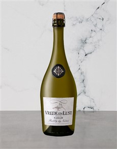 alcohol: VREDE N LUST SARAH BUBBLY 750ML X1!