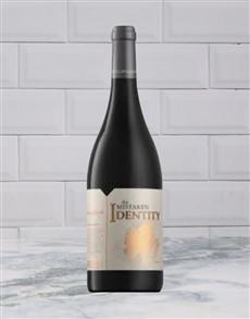 alcohol: STELLENZICHT MISTAKEN IDENTITY RED BLEND 750ML X1!