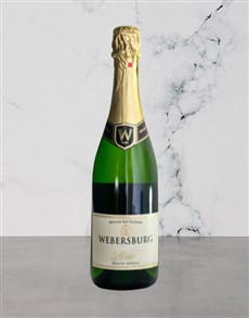 alcohol: WEBERSBURG BRUT ROSE 750ML!