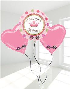 gifts: Little Princess Pink Balloon Bouquet!