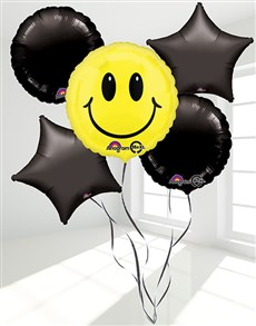 Picture of Smiley Face Balloon Bouquet!