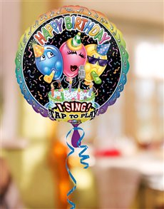 gifts: Happy Birthday to You Singing Balloon!