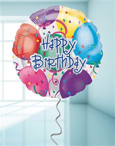 gifts: Happy Birthday Streamer Balloon!