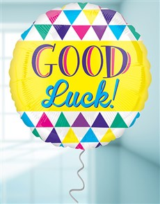 gifts: Good Luck Triangles Balloon!