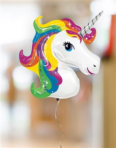 flowers: Unicorn Balloon Bouquet!