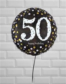 gifts: Sparkling 50th Birthday Jumbo!