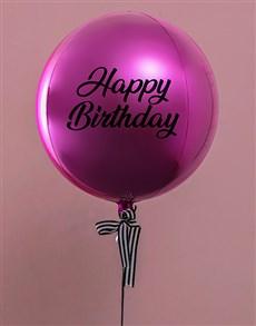 gifts: Metallic BrightPink Celebrations Balloon Gift!