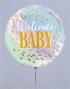 gifts: Welcome Baby Balloon Gift!