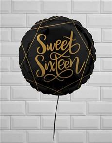 gifts: Sweet Sixteen Birthday Balloon!