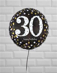 gifts: Thrilling Thirtieth Birthday Balloon!