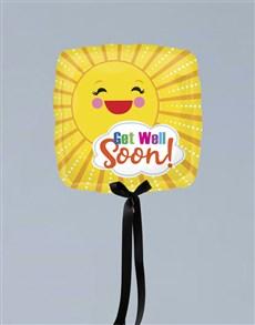 gifts: Get Well Sunbeam Balloon Gift!