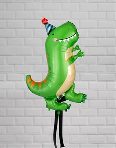 gifts: T Rex Dino Birthday Balloon Gift!