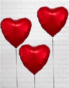 gifts: Red Heart Balloon Bouquet!