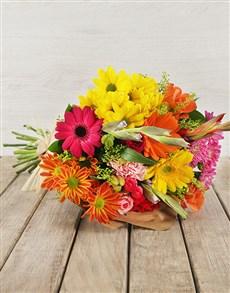 flowers: Vibrant Flower Gift!