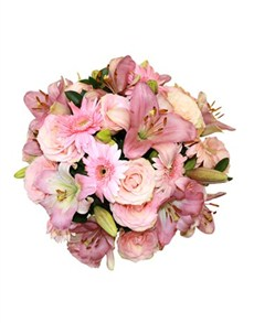 flowers: Pink and White Floral Mix!