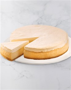gifts: Chateau Gateaux Andreas Baked Cheesecake!