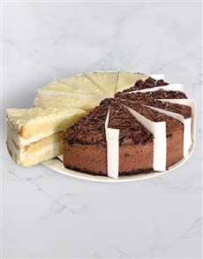 bakery: Chateau Gateaux Vanilla and Choc Variety Cake!