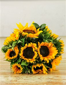 Sunflower Sunrise Bouquet