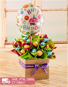 Birthday Edible Arrangement