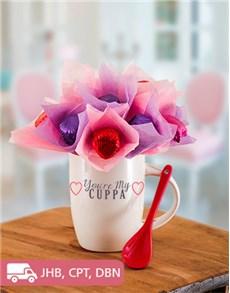 flowers: You are my Cuppa Edible Arrangement Mug!