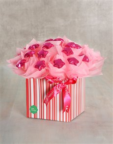 gifts: Pink Fling Edible Arrangement!
