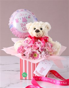 gifts: Its A Baby Girl Edible Arrangement!