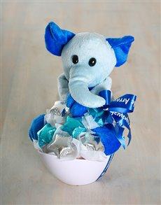 gifts: Elephant Edible Arrangement!